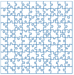 Generating SVG Jigsaw Puzzles | dev inventables